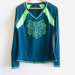 ALTHETA Long sleeve sun shirt UPF mandala M